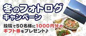 冬のフォトログキャンペーン~投稿でAmazonギフト券あたる~