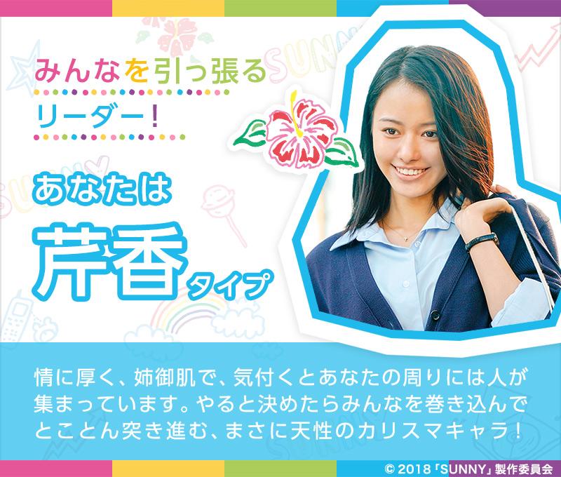 映画公開記念SUNNY診断